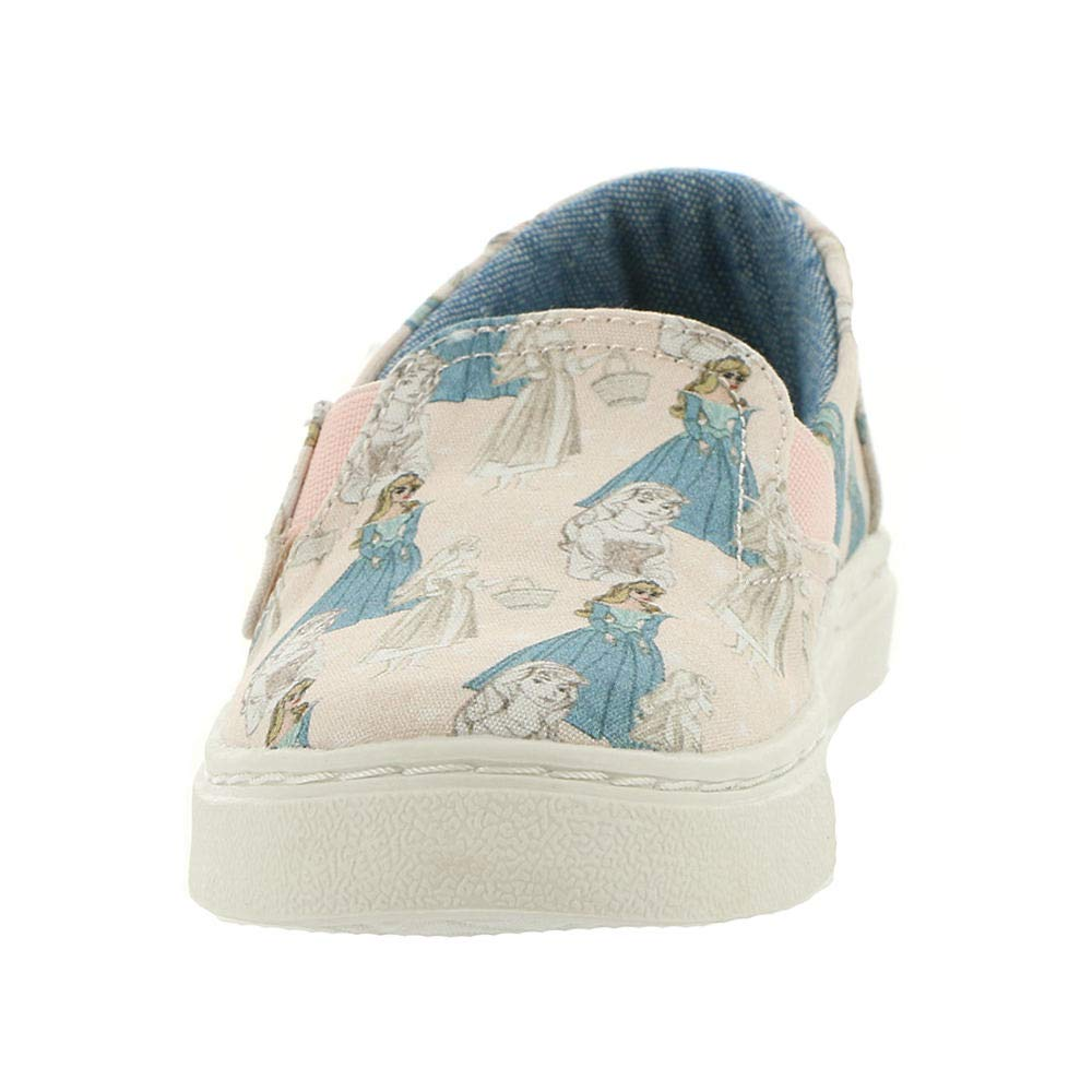 TOMS Kids Baby Girl's Luca Disney¿ Princesses (Infant/Toddler/Little Kid) Pink Sleeping Beauty Printed Canvas 5 M US Toddler M by TOMS (Image #5)