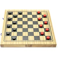 MindSapling Backgammon and Checker Wooden Game S