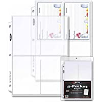 Pro 4-Pocket Photo Page Sleeve (100 Count)