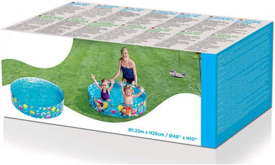 Hartplastik Ozean Spielen Snapset Pool faltbar runde Marine Ball Pool Babywanne Planschbecken f/ür Sommer Outdoor-Aktivit/ät Baby Geschenke HAINIWER Kinderschwimmbad