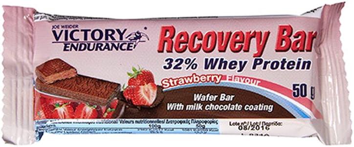 Victory Endurance Recovery Bar - 12 Barritas x 50 gr Fresa