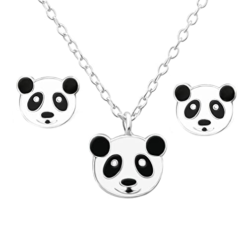 FIVE-D - Colgante con Cadena para niños, diseño de Oso Panda ...
