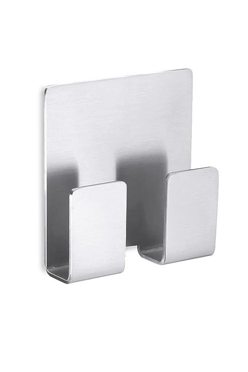 Zack 40135 Appeso - Colgadores cuadrados adhesivos para toallas (5,8 x 5,