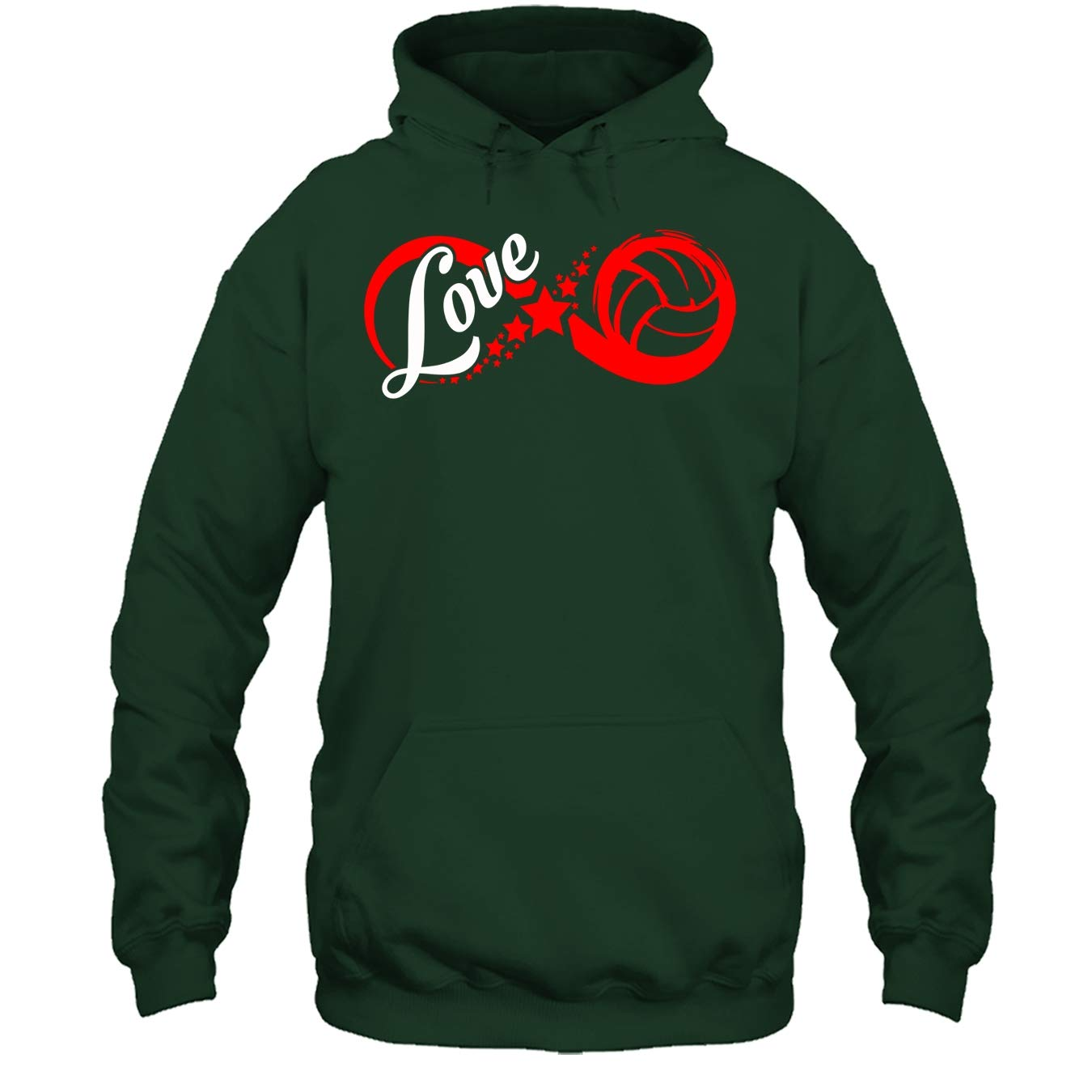 Volleyball T Shirt Infinity Love Volleyball Tee Shirt
