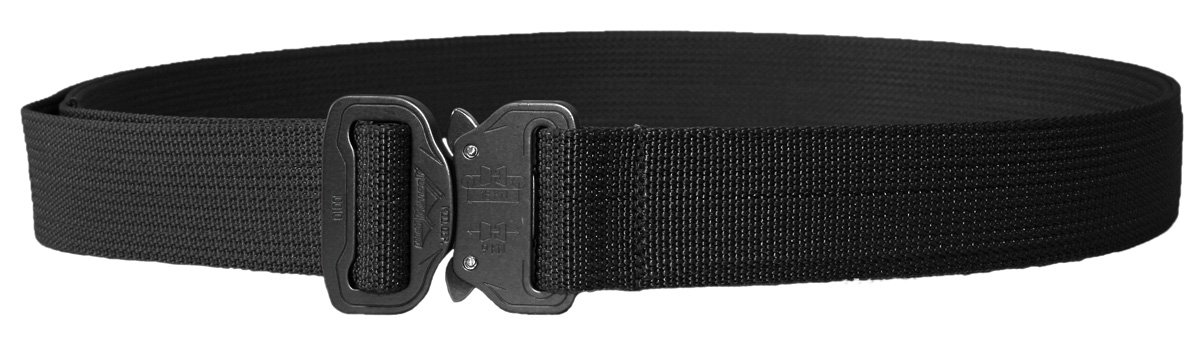 Elite Survival Systems Co Shooters Belt with Cobra Buckle CSB-B-M Co Shooters Belt with Cobra Buckle Black, Medium by Elite Survival Systems