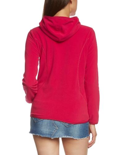 CMP �?F.lli Campagnolo Kapuzen Jacke - Forro para mujer rojo