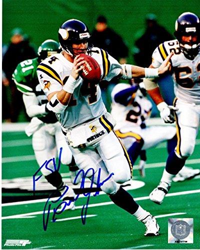 Brad Johnson Minnesota Vikings Autographed Items 5db877aa6