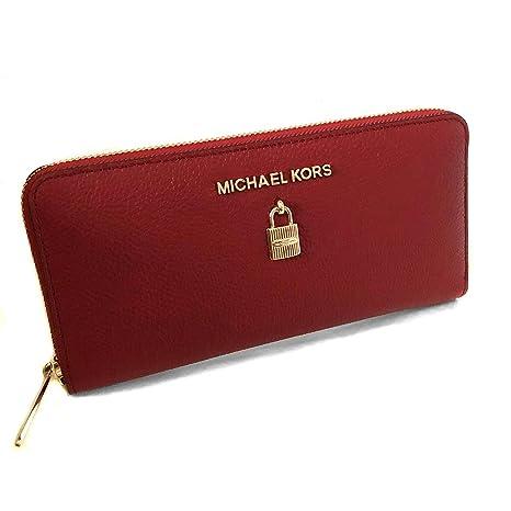 Michael Kors Portafoglio donna NS Rosso  Amazon.it  Valigeria 81e82e71028