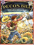 Front cover for the book Pecos Bill by Steven Kellogg