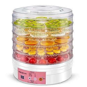 Secadora De Alimentos Secador de alimentos - Categoría alimenticia PP, 5 capas, sincronización inteligente, contenedor transparente, máquina multifuncional ...