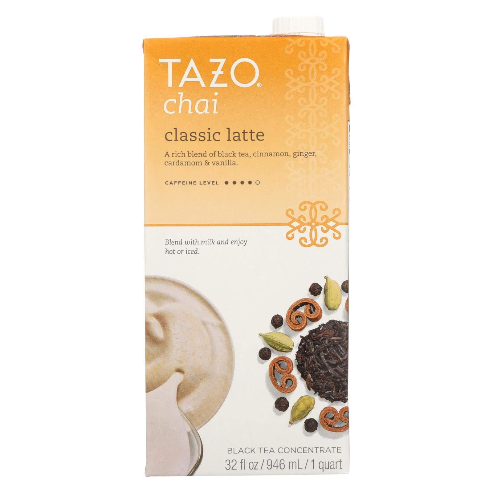 Tazo Concentrate Chai Latte Tea, 32 Ounce - 6 per case. by TAZO