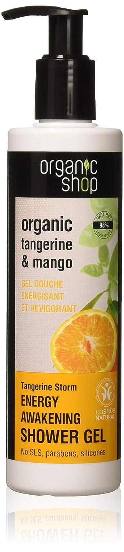 Organic Shop Tormenta de Mandarina Gel de Ducha Energizante - 280 ml: Amazon.es: Belleza