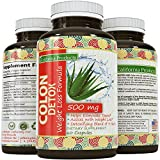 Colon Detox Supplement - Best Formula - Helps Eliminate Toxins (highest potency), Pharmaceutical Grade Quality - Weight Loss, Cleanse & Health Benefits for Women and Men - Supports Real Energy Levels an Digestive Health - Safe, Gentle and Effective - by California products