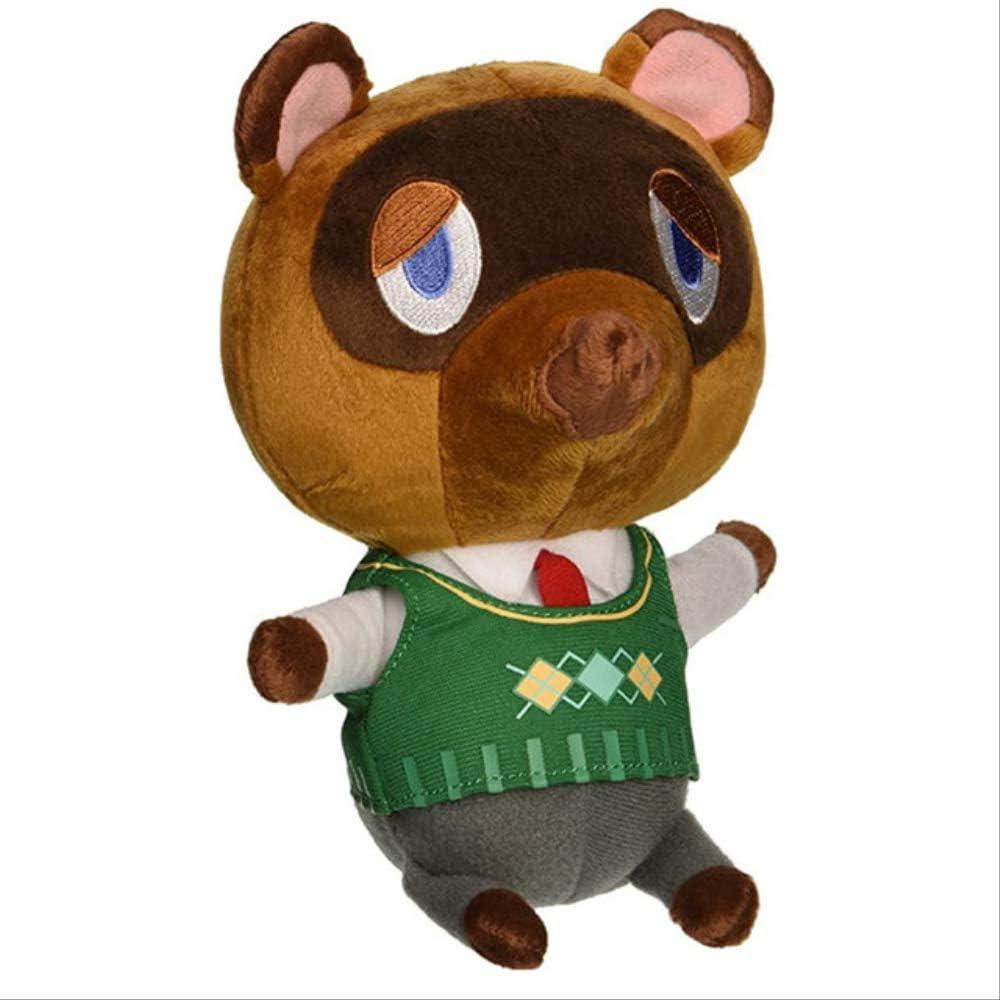 Animal Crossing New Leaf Tom Nook Plush Toy Doll Peluches para Niñas Brithday Gift 20CM A