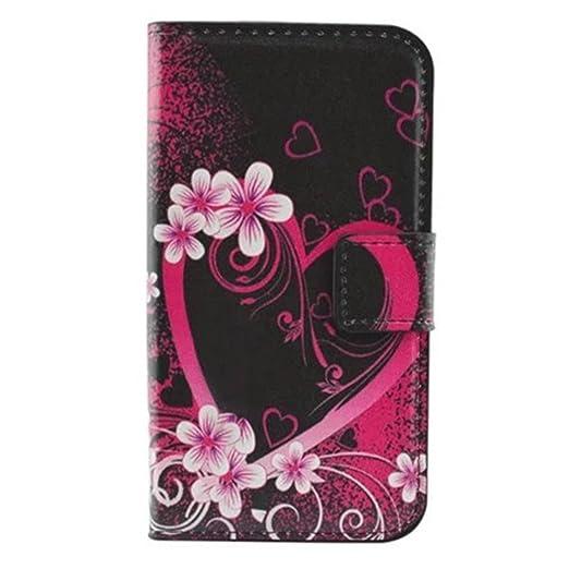 113 opinioni per HUANGTAOLI Custodia in pelle Protettiva Portafoglio Flip Case Cover per Samsung