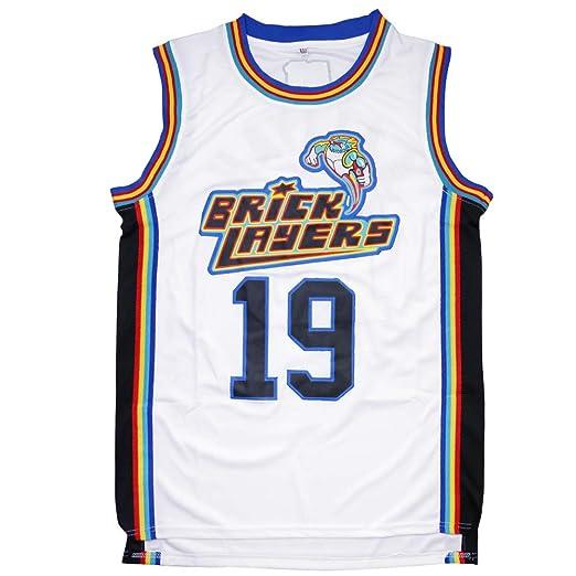 ffa33945f Amazon.com: Aaliyah 19 Bricklayers MTV Rock N Jock Basketball Jersey  S-XXXL: Clothing