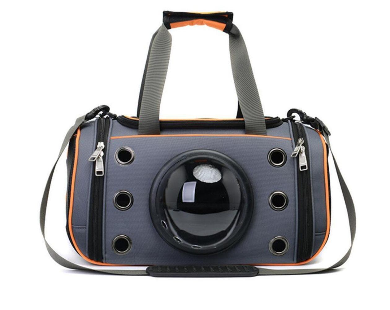 LVRXJP Pet Travel Bag Space Pet Case Innovative Capsual Traveler Bubble Outdoor Shoulder Bags Pet Carriers, S