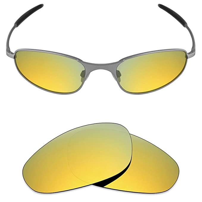 67db43997b Amazon.com  Mryok Polarized Replacement Lenses for Oakley A Wire ...