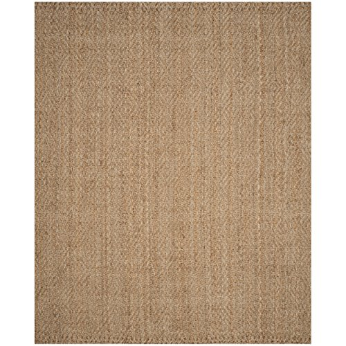 Hand Woven Jute Natural Rug (Safavieh Natural Fiber Collection NF181A Hand Woven Natural Jute Area Rug (6' x 9'))