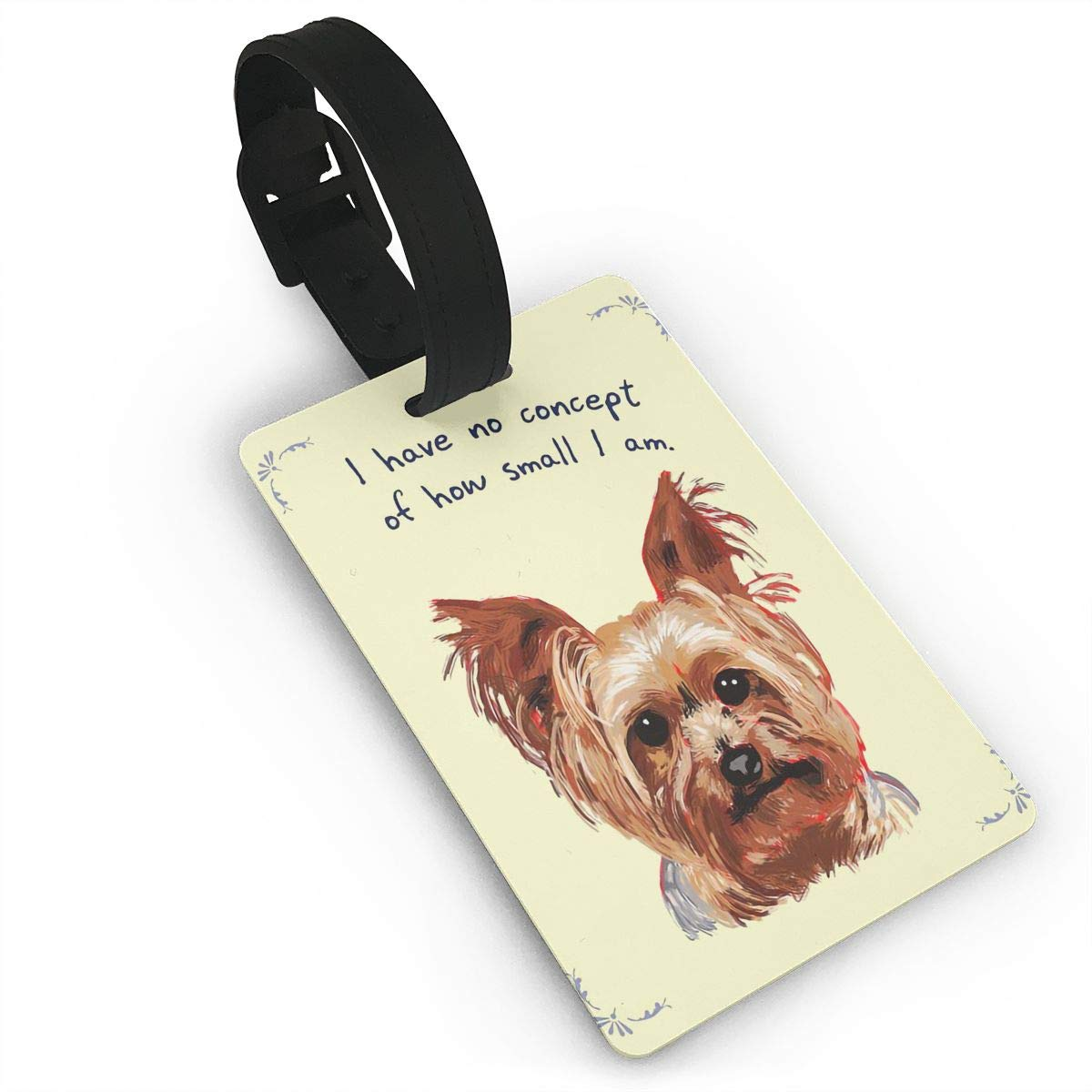Bichon Frise Baggage Tag For Travel Tags Accessories 2 Pack Luggage Tags