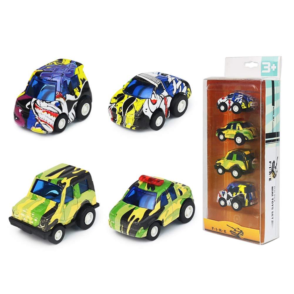 Symiu Vehicule Voiture Miniature Mini Maquette Voiture Jouet Enfant Miniature Voiture Pull Back Friction Vehicule Jouet pour Enfant Fille Garcon 3 4 5 Ans