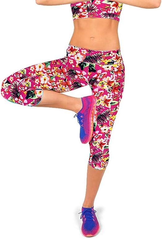 Cealu Womens Printed Leggings Full-Length Hips Up High Waist Workout Tie-Dye Pleated Printed Yoga Pants
