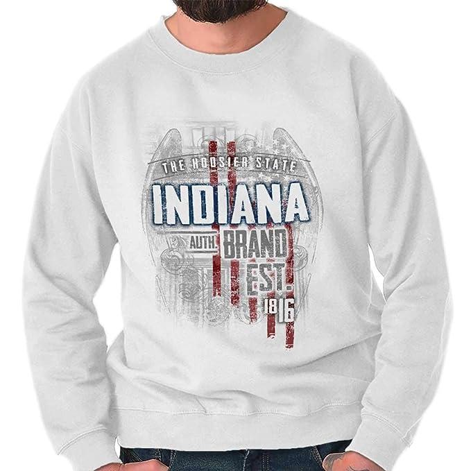 Classic teaze Indiana Estado Estados Unidos T Shirt Patriotic American Eagle Ideas de regalo para hombre - Blanco - : Amazon.es: Ropa y accesorios