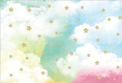 Aofoto Happy Birthday Hintergrund Kuchen Smash Baby Kamera
