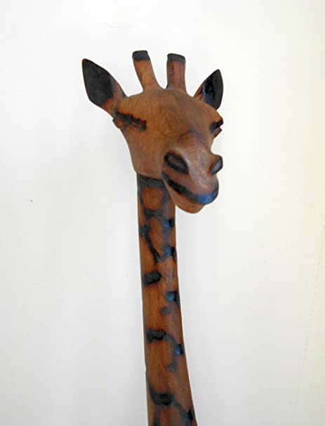 African Wooden Giraffe Approximately 75cm Tall