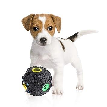 PetNewlife Juguete interactivo para perro y gato por Food Puzzle Ball – dispensador de tratamiento para