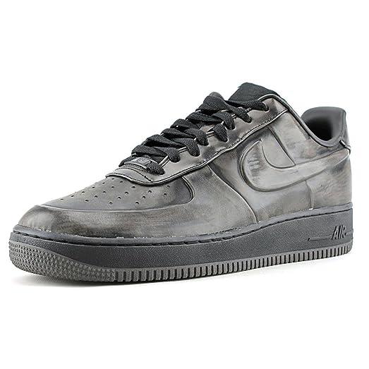 sports shoes b4712 90320 ... BlackBlack-Midnight Fog Nike Air Force 1 Low VT Supreme Mens Shoes  472514-001 Black ...
