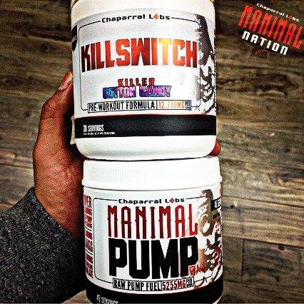 Manimal Pump RAW Stimulant Free N.O. Boosting Supplement! 100% Risk Free Money Back Guarantee!