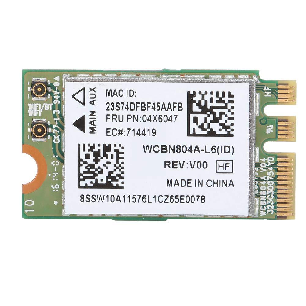 modulo di Rete NGFF M2 Interface per WIN7//WIN8//WIN10 ASHATA Scheda di Rete Wireless 5G Dual Band per Qualcomm Atheros QCNFA34AC 867M Bluetooth 4.0 Adatta per Lenovo B50-80 E460 E560 Yoga Serie 500