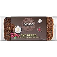 (8 PACK) - Biona Organic Cranberry & Coconut Rye Bread  500 g  8 PACK - SUPER SAVER - SAVE MONEY