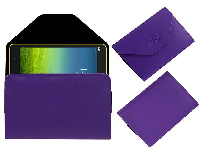 Acm Pouch Case Compatible with Xiaomi Mi Pad 8 Flip Flap Cover Holder Purple Tablet Accessories