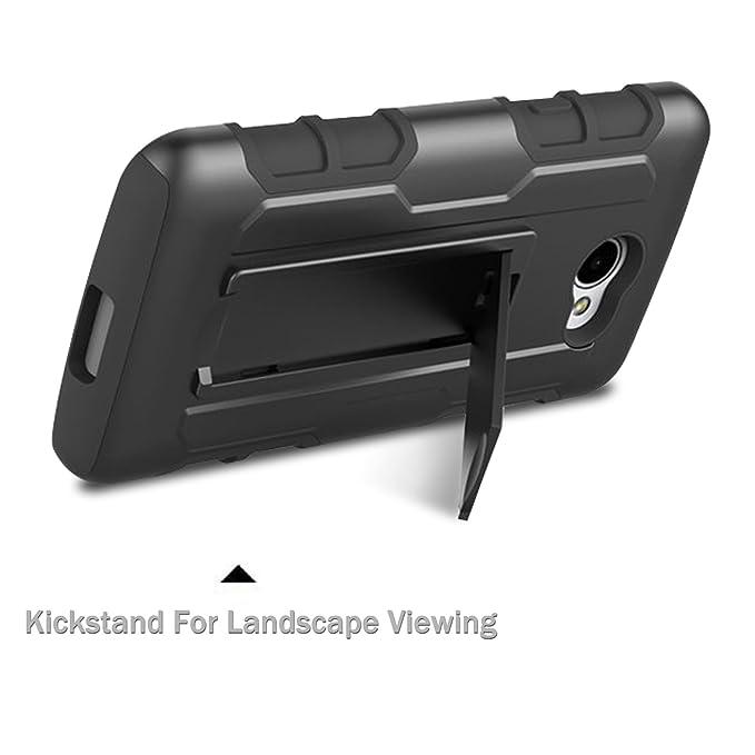Amazon.com: LG K5 Case, EC ™ Heavy Duty Dual Layer Rugged ...