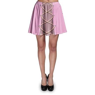 Rapunzel corsé vestido skater falda XS-3 X L Elástico acampanado ...