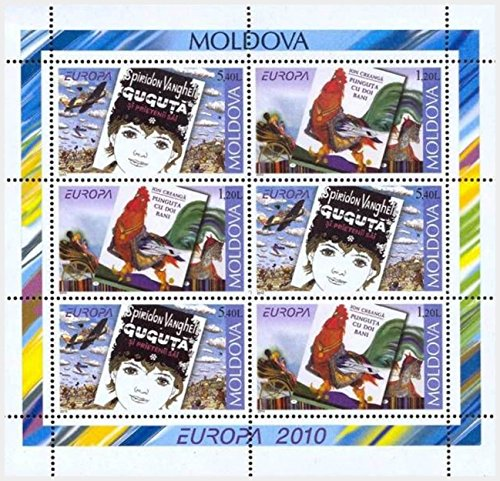 Europa Cept 2010 / Booklet of 3 Sets of 2 Stamps / Moldova - Books for Children / Moldova Republic / 2010 / MNH