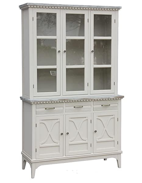 Foto Mobili Shabby Chic.Solo Mobili Mobile Cupboard Shabby Chic 200 Cm Amazon Co Uk