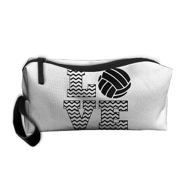 Amazon.com: cartera de Love voleibol titular de la pluma ...