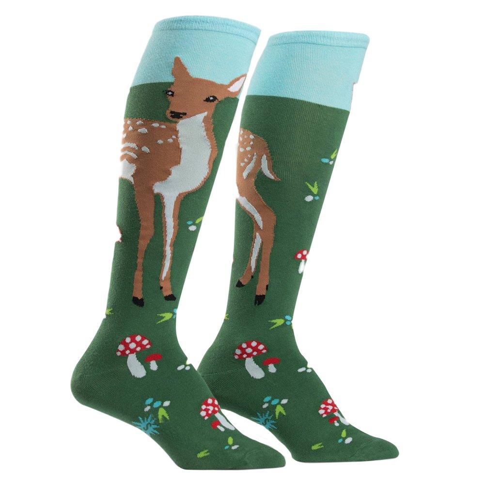 Sock It To Me Fawn Memories Womens Knee High Socks F0262