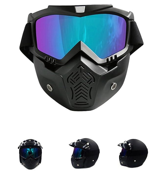 522f4e59740 Unisex Gafas de esquí - TININNA Máscara y Gafas de Ski para el adulto Hombre  y Mujer Espejo Anti-vaho Antiniebla Gafas para Esquiar y Deportes al Aire  ...
