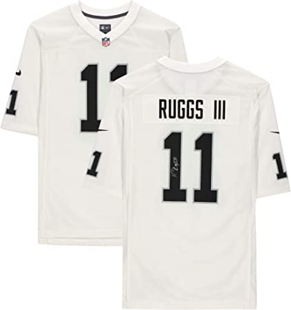 Henry Ruggs III Las Vegas Raiders Autographed Nike White Game Jersey - Autographed NFL Jerseys