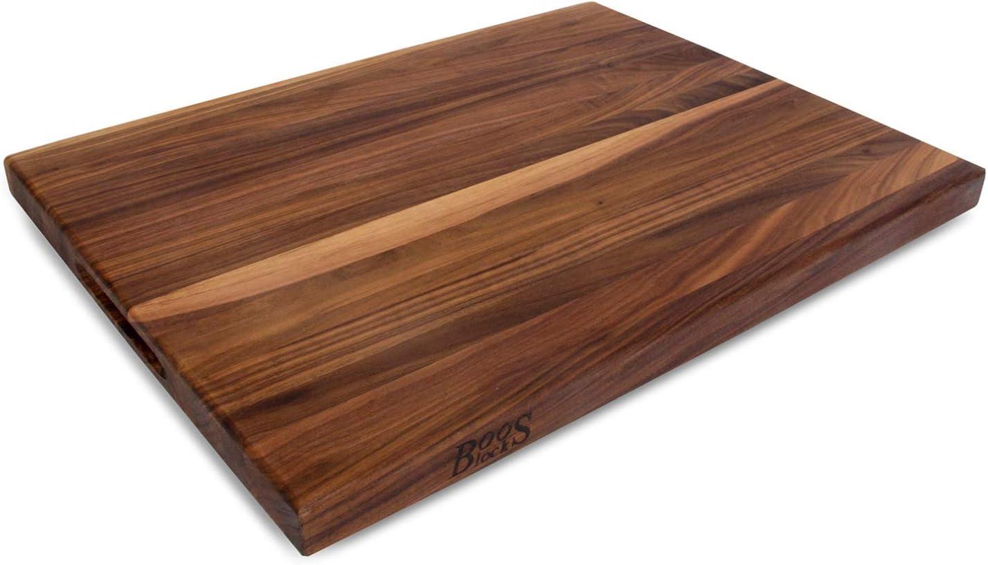 Shop John Boos WAL-R02 Walnut Wood Edge Grain Reversible Cutting Board from Amazon on Openhaus