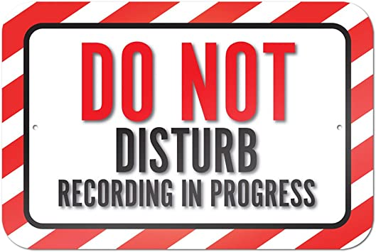 Amazon.com: Do Not Disturb de grabación en el Progreso 9