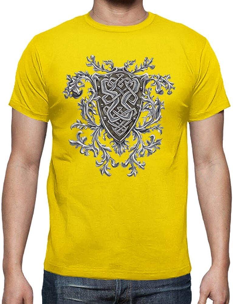 latostadora - Camiseta Cresta Celta para Hombre: Amazon.es: Ropa y accesorios