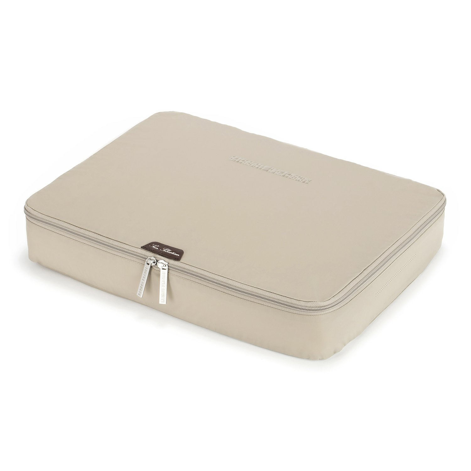 LIGHT FLIGHT 17'' Packing Folder Anti-wrinkle Shirt Travel Packing Cube and Luggage Accessory, Beige