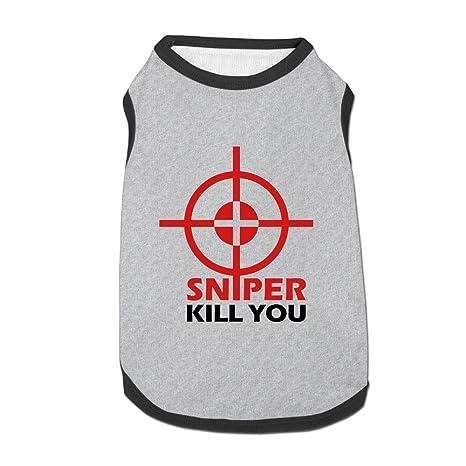 Perro de Cool Sniper Kill You abrigos de perro 2016