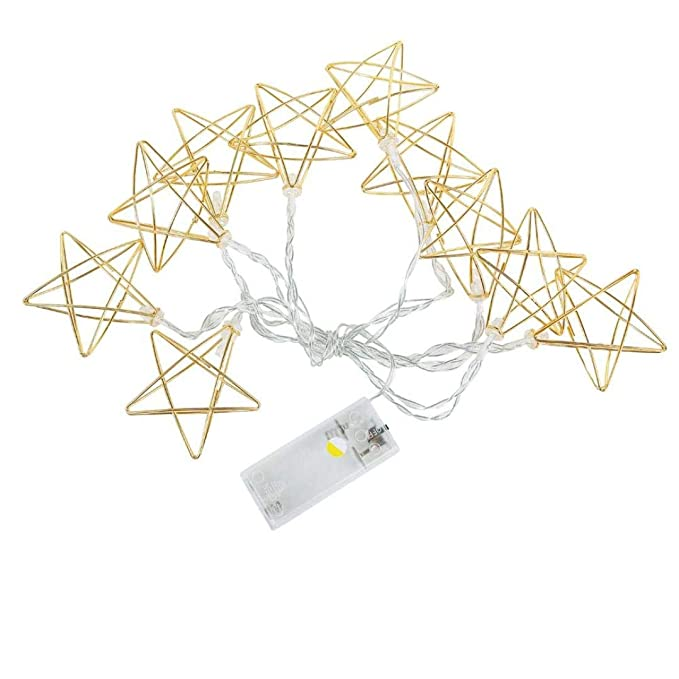 Amazon Com Light Postftxj Curtain Pentagram Lights String House