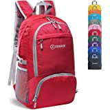 ZOMAKE 30L Lightweight Packable Backpack Water Resistant Hiking Daypack,Small Travel Backpack Foldable Camping Outdoor…